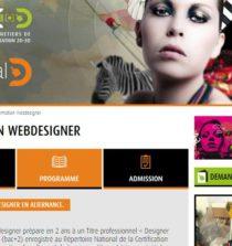 ecole de formation pour webdesigner